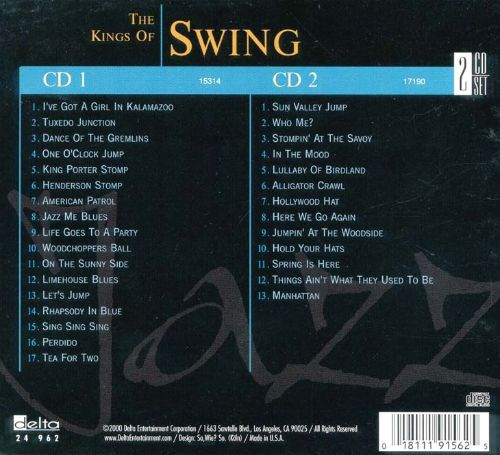 Jazz Collection: Kings of Swing [#1]