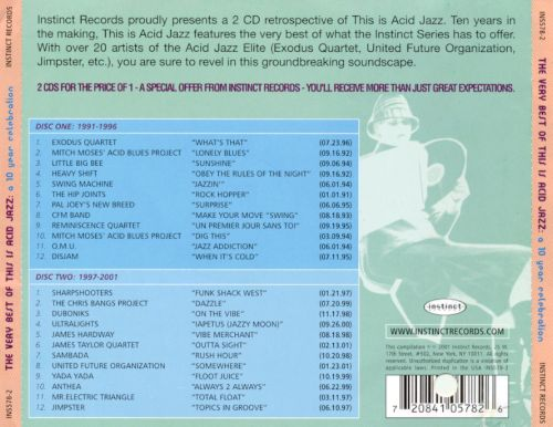 The Very Best of This Is Acid Jazz: A 10 Year Celebration