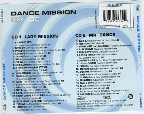 Dance Mission: Icy '98