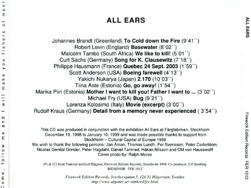All Ears: A Compilation