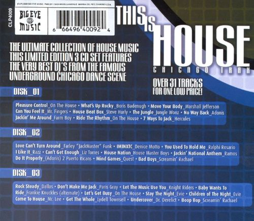 This Is House [Big Eye]