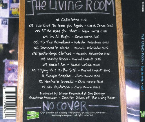 1 The Living Room Live In NYC Vol