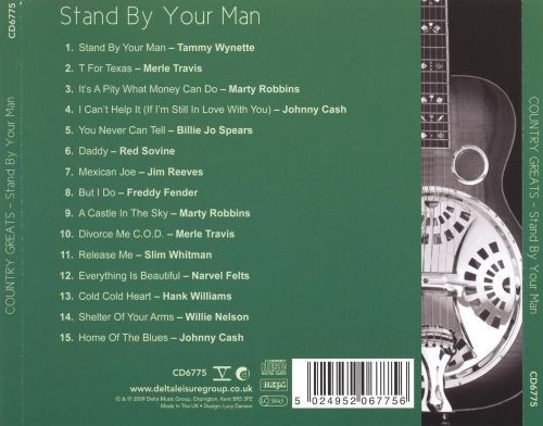 Country Greats: Stand by Your Man