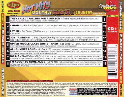 Hot Hits Country September 2008, Vol. 2