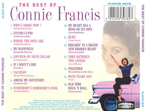 The Best of Connie Francis [Prism]
