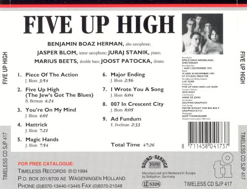 Five Up High