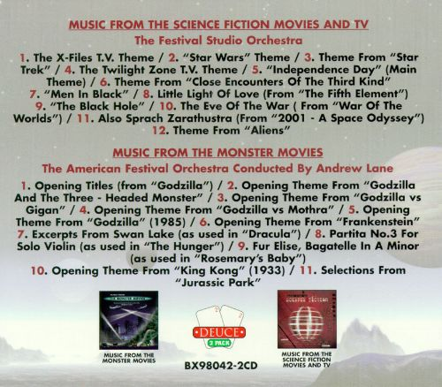 Music from Science Fiction Monster Movies