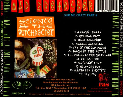 Science & the Witchdoctor: Dub Me Crazy, Pt. 9