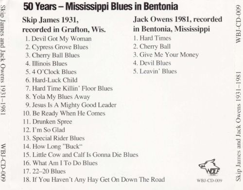 50 Years: Mississippi Blues in Bentonia