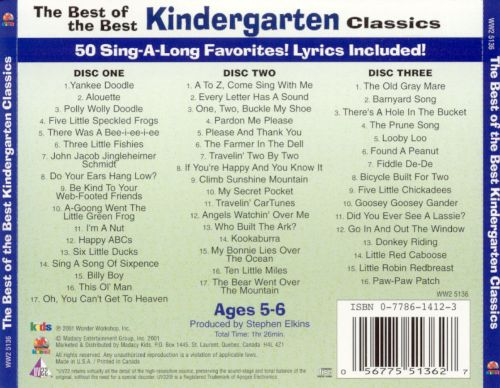 The Best of the Best Kindergarten Classics
