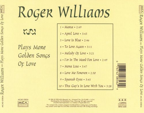 Plays More Golden Songs of Love