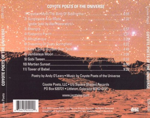 Coyote Poets of the Universe
