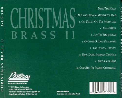 Greatest Christmas Collection: Christmas Brass, Vol. 2