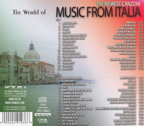 The World of Music from Italia