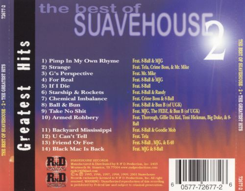 Best of Suavehouse, Vol. 2: Greatest Hits