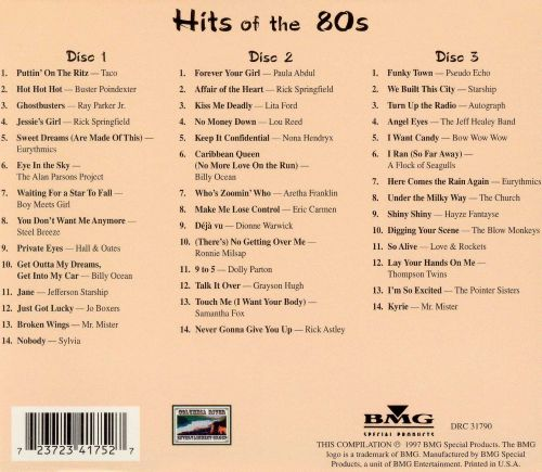 Hits of the 80's [Columbia River]