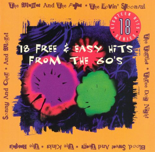 18 Free & Easy Hits from the '60s