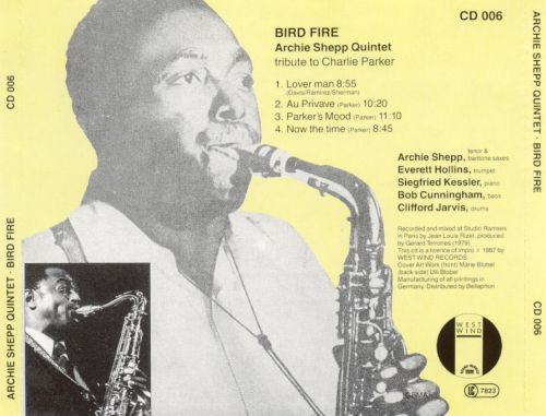 Bird Fire: A Tribute to Charlie Parker
