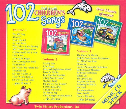 102 children 39 s songs 2002 twin sisters songs reviews credits allmusic. Black Bedroom Furniture Sets. Home Design Ideas