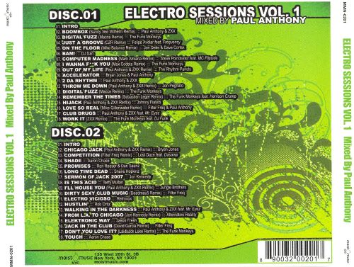 Electro Sessions, Vol. 1