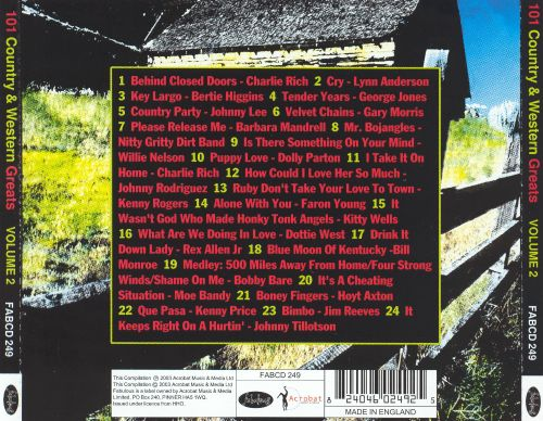 101 Country & Western Greats Volume 2