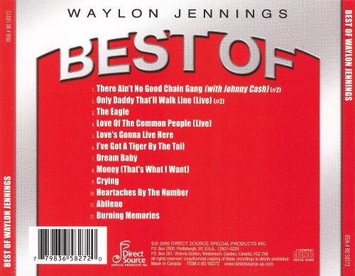Best of Waylon Jennings [Direct Source]