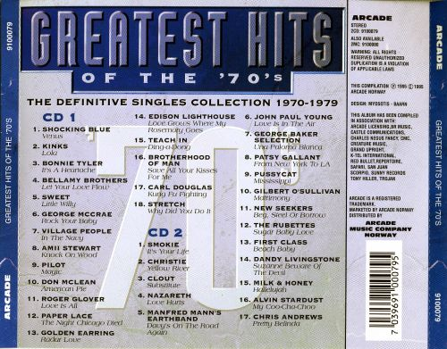 Greatest Hits of the 70's [Arcade]