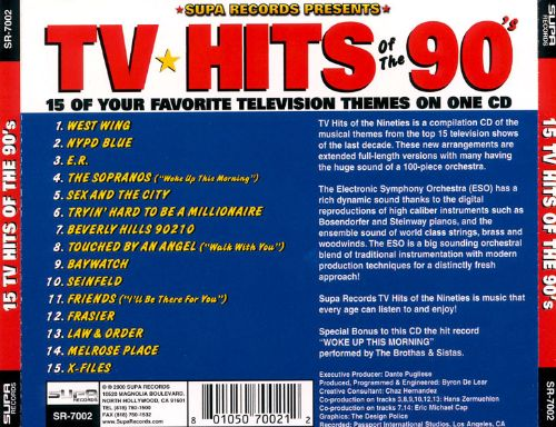 TV Hits of the '90s