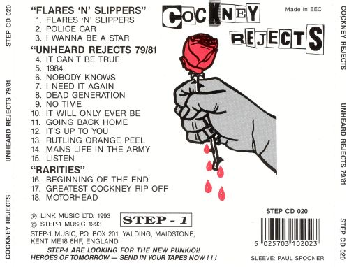 Unheard Rejects: 1979-1981