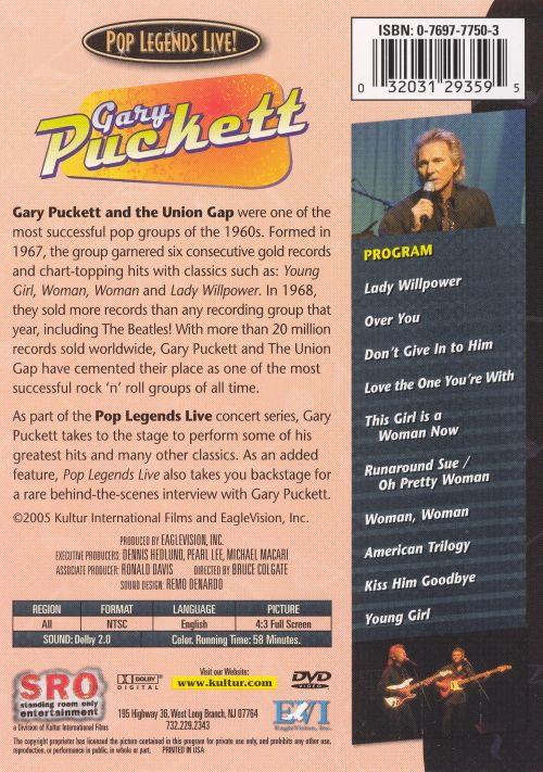 Gary Puckett and the Union Gap [DVD]