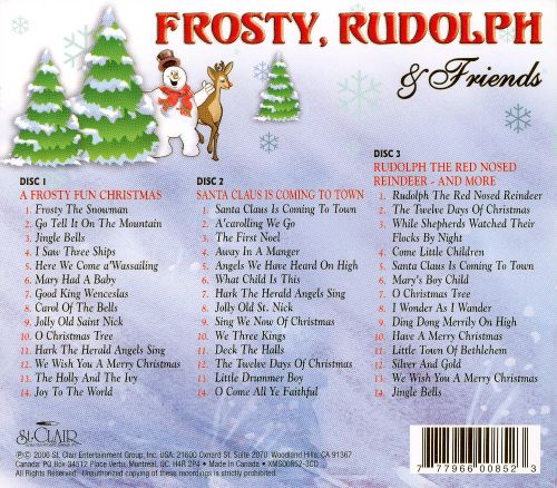 Frosty, Rudolph and Friends