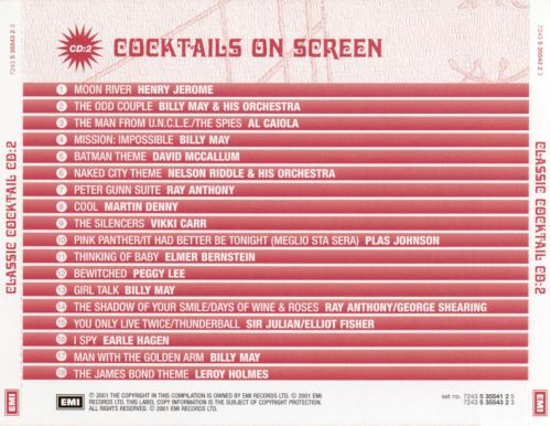 Classic Cocktail: Cocktails on Screen, Vol. 2