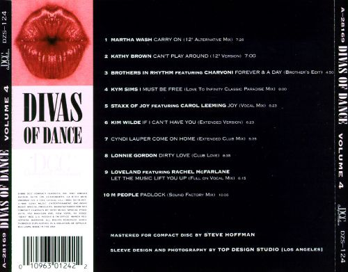 Divas of Dance, Vol. 4 [DCC]