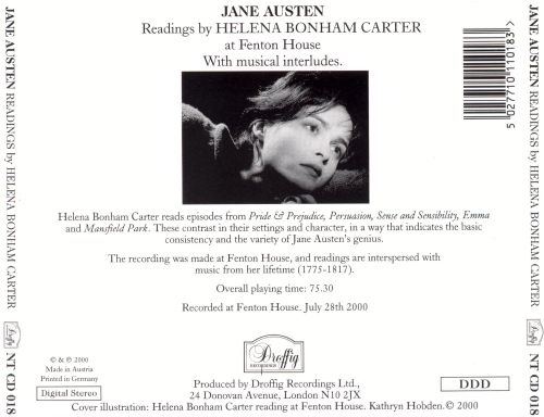 Jane Austen Readings by Helena Bonham Carter