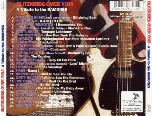 Blitzkrieg Over You: A Tribute to the Ramones