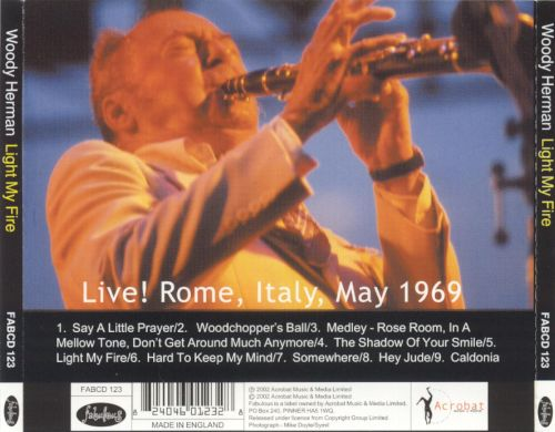 Light My Fire: Live! Rome, Italy, May 1969