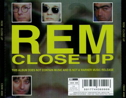 Close Up: The REM Interviews, Vol. 2