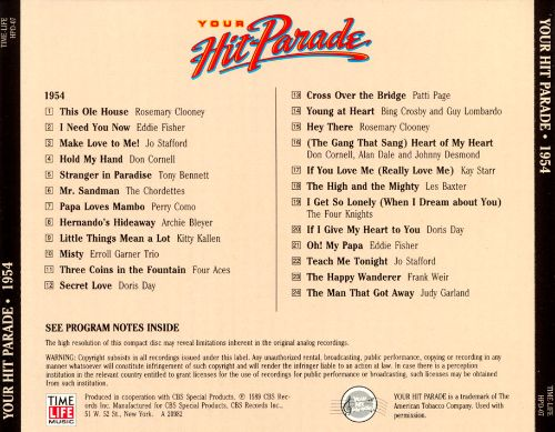 Your Hit Parade: 1954