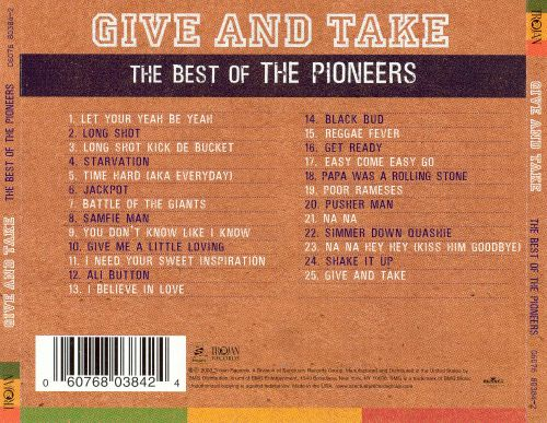 Give and Take: The Best of the Pioneers