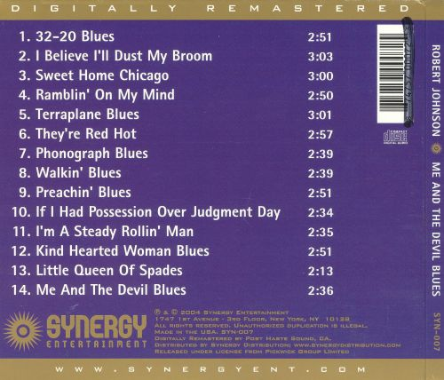 Me and the Devil Blues [Synergy]
