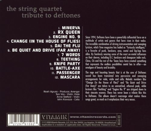 The String Quartet Tribute to Deftones