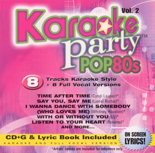 Karaoke Party! Pop 80s, Vol. 2