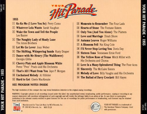 Your Hit Parade: 1955