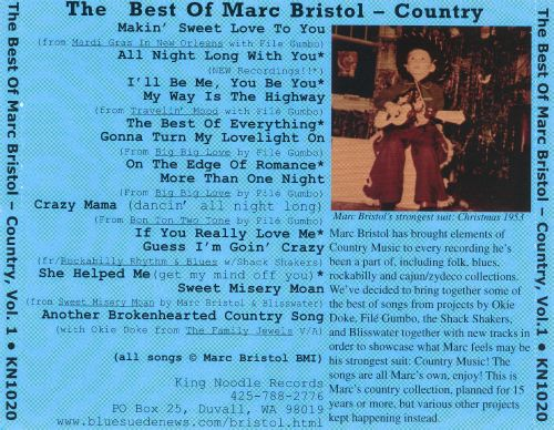 On the Edge of Romance: The Best of Marc Bristol