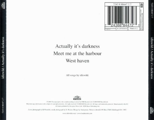 Actually It's Darkness