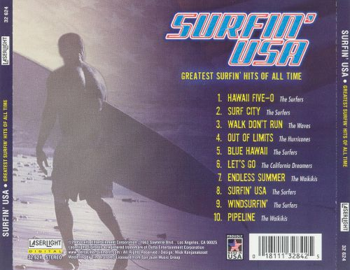 Surfin' USA: Greatest Surfin Hits of All Time
