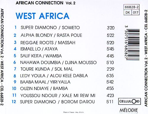 African Connection, Vol. 2: West Africa