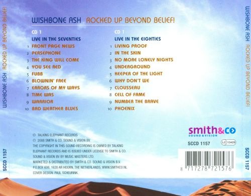 Rocked Up Beyond Belief: Two Decades of Live Recordings