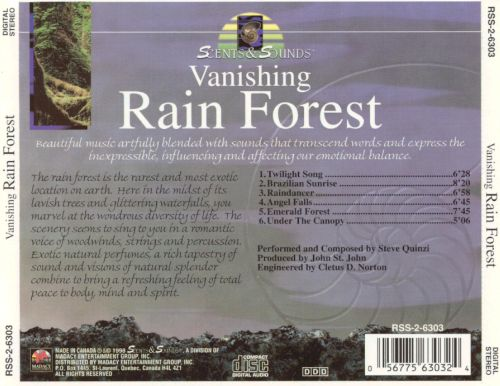 Scents & Sounds: Vanishing Rain Forest - Kava Kava