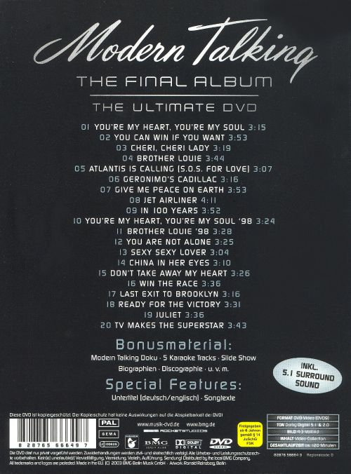 The Final Album: The Ultimate DVD